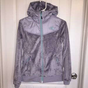 North Face Oso full zip hooded jacket
